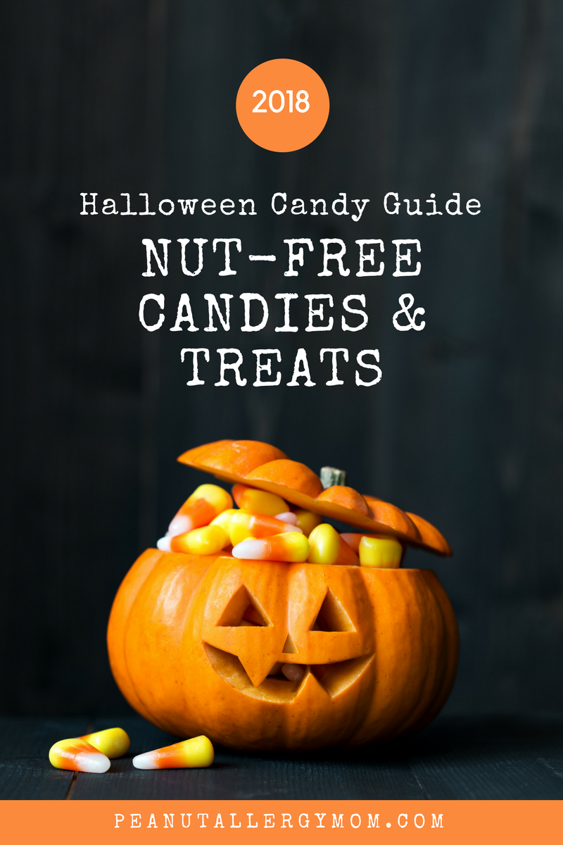 nut free candies and treats halloween