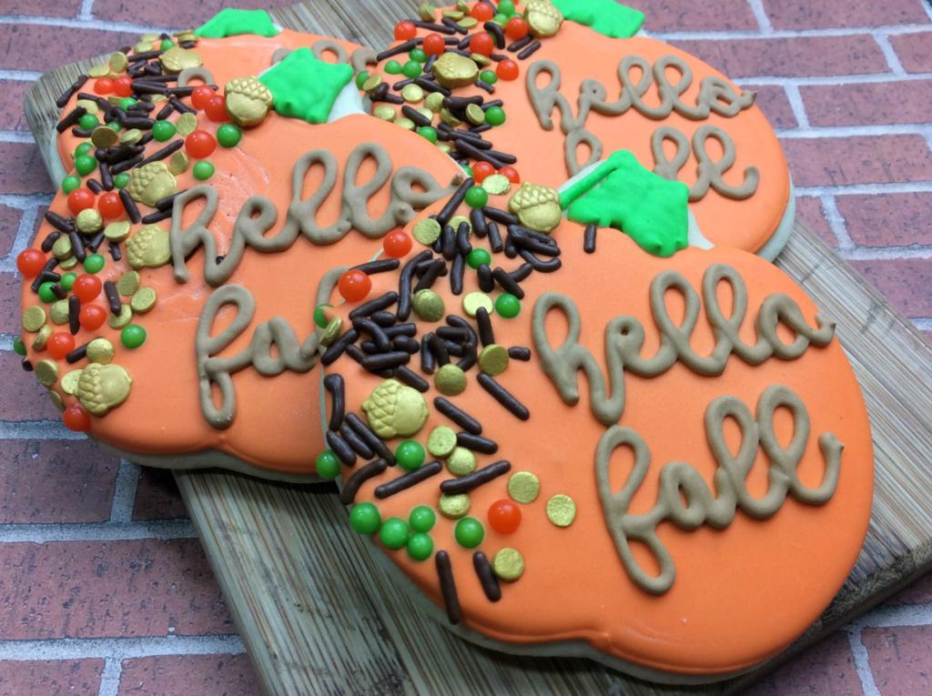 Nut-Free Harvest Pumpkin Cookies