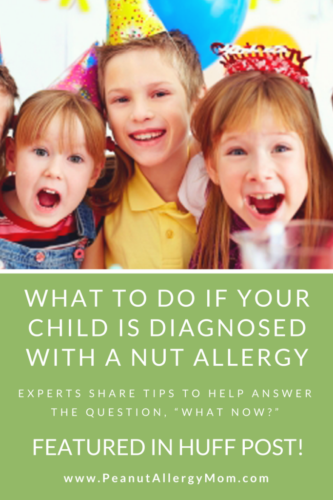 What To Do If Your Child Is Diagnosed With A Nut Allergy
