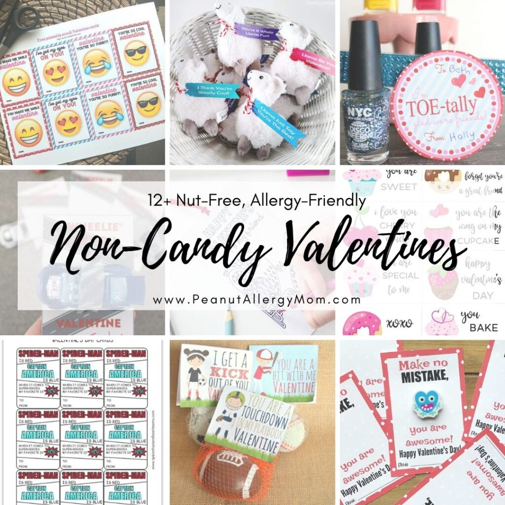 Non-Candy Classroom Valentines