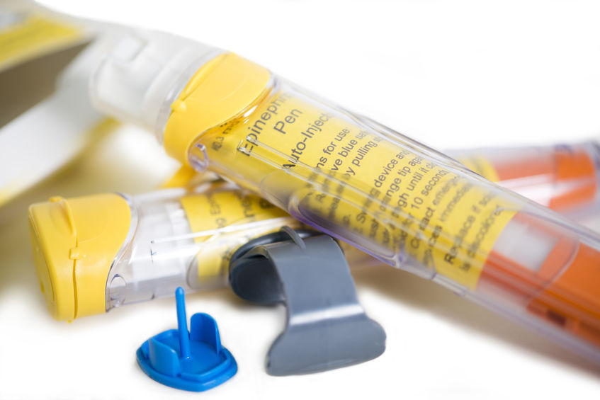 Tips for Peanut Allergy Moms - Picture of Epinephrine Pens