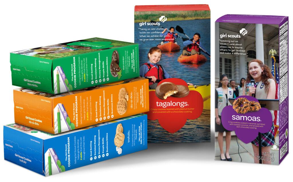 Girl Scout Cookies - Little Brownie Bakers