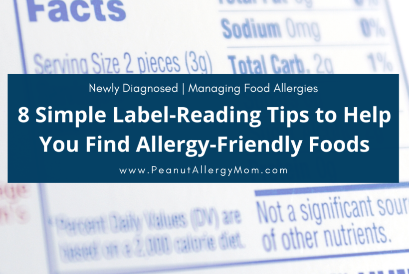 Find Allergy-Friendly Foods and Label