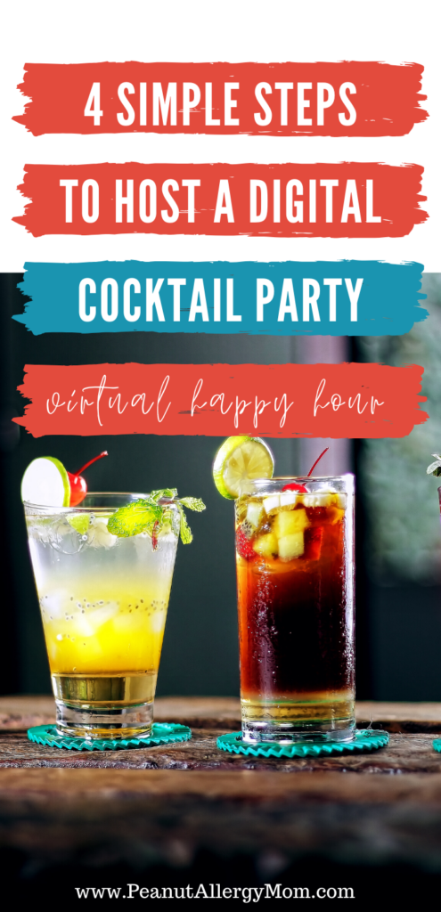 4 Steps to Host a Digital Cocktail Party