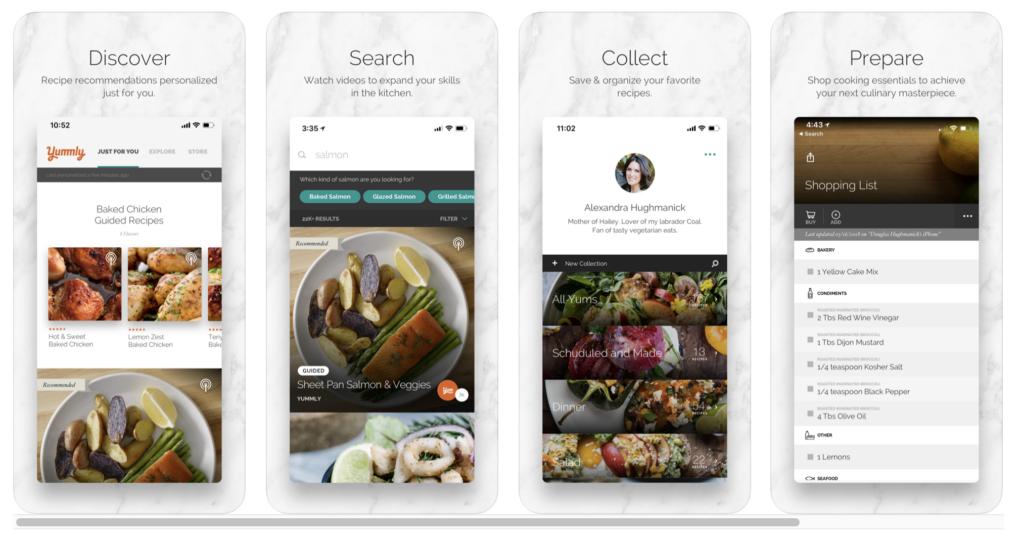 Food Allergy App - Yummly Screenshot