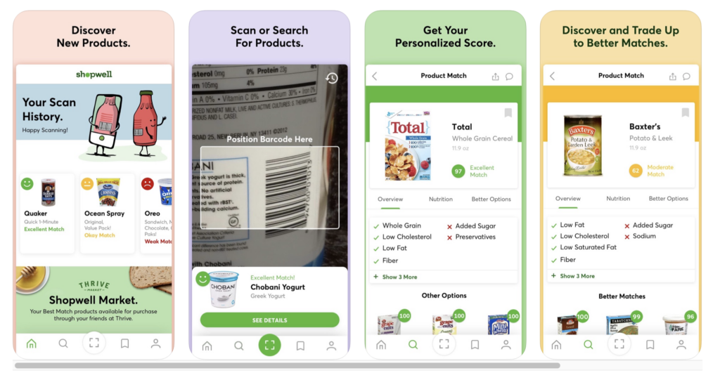 Food Allergy Apps - ShopWell Screenshot