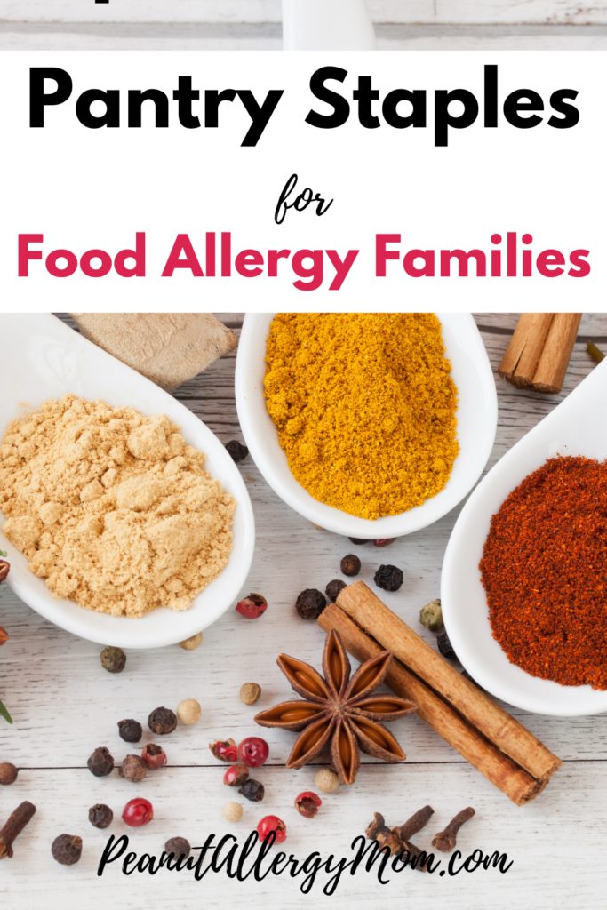 Pantry Staples for Food Allergy Families